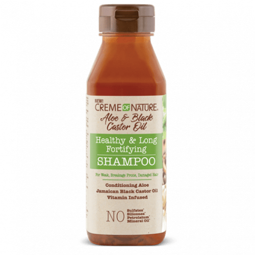 Creme of Nature - Aloe & Black Castor Oil Healthy & Long Fortifying Shampoo (12oz)