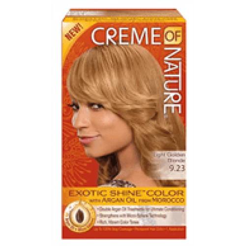 Creme of Nature - Exotic Shine Color Light Golden Blonde 9.23