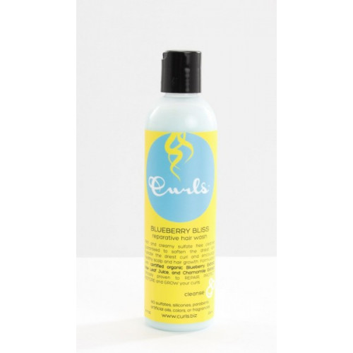Curls - Blueberry Bliss Reparative Hair Wash (8oz)