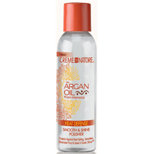Creme of Nature - Argan Oil Heat Defense Smooth & Shine Polisher (4oz)