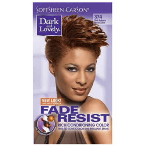 Dark and Lovely - Permanent Hair Color Rich Auburn 374