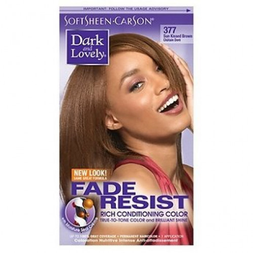 Dark and Lovely - Permanent Hair Color Sun Kissed 377