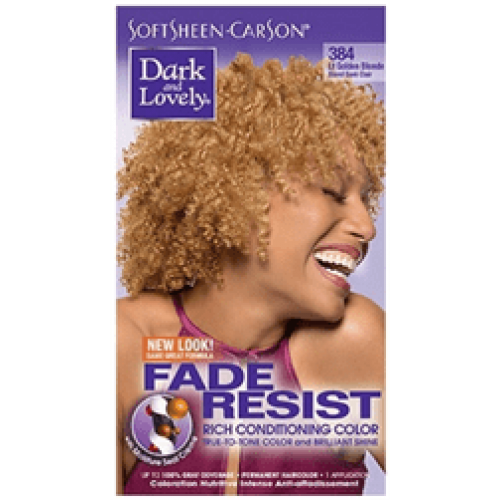 Dark and Lovely - Permanent Hair Color Lt Golden Blonde 384