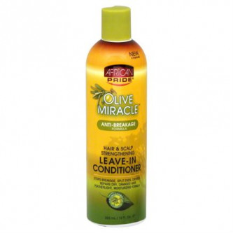 African Pride - Olive Miracle Anti-Breakage Leave-In Conditioner (12oz)