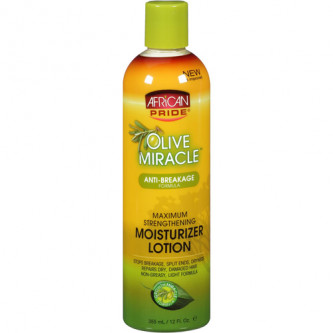 African Pride - Olive Miracle Anti-Breakage Moisturizer Lotion (12oz)