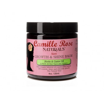 Camille Rose - Growth & Shine Balm with Biotin & Castor Oil (4oz)