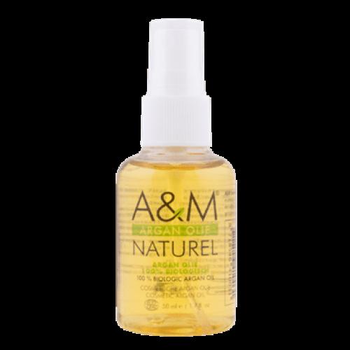 A & M - 100% Biologisch Argan Olie (50ml)