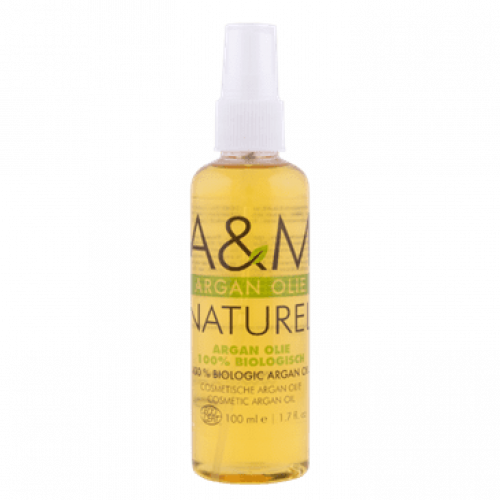 A & M - 100% Biologic Argan Oil (100ml)