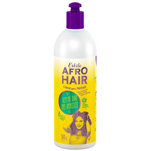 Novex - Afro Hair Curl Activactor Leave-in Cream With Argan Oil (17.6oz)
