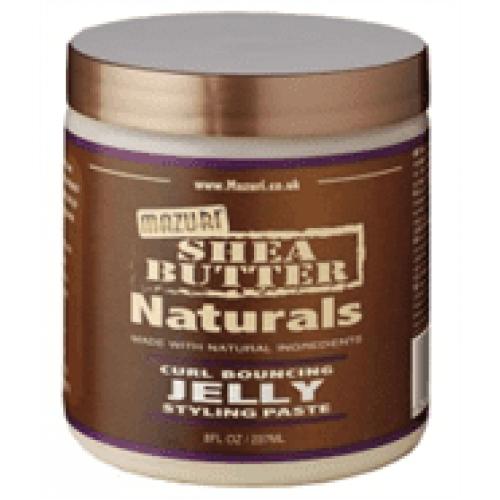 Mazuri Shea Butter Naturals - Curl Bouncing Jelly (8oz)