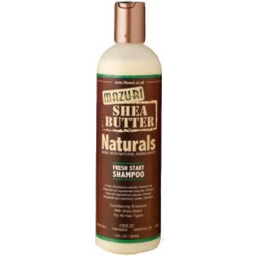 Mazuri Shea Butter Naturals - Fresh Start Shampoo (12oz)