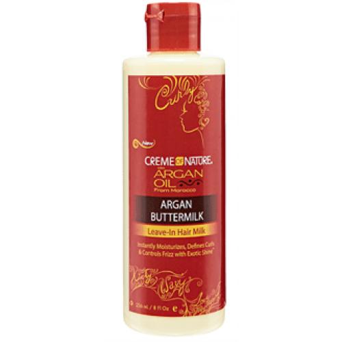 Creme of Nature - Argan Oil Buttermilk Leave-In Hair Milk (8oz)
