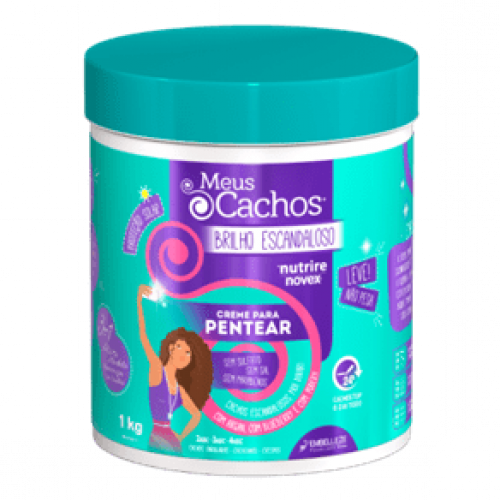 Novex - My Curls Super Shiny Leave-in Conditioner (32oz)