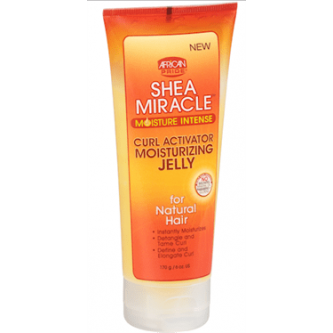African Pride - Shea Butter Miracle - Curl Activator Moisturizing Jelly (6oz)