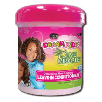 African Pride - Dream Kids Olive Miracle Detangling Moisturizing Leave-In Conditioner (15oz)
