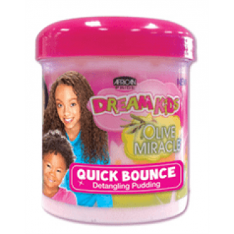 African Pride - Dream Kids Olive Miracle Quick Bounce Detangling Pudding (15oz)