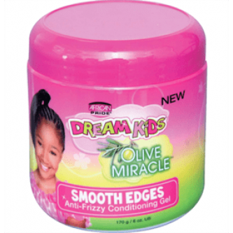 African Pride - Dream Kids Olive Miracle Smooth Edges (6oz)