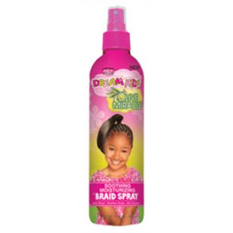 African Pride - Dream Kids Olive Miracle Braid Spray (12oz)