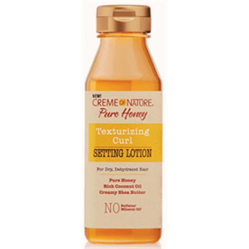 Creme of Nature - Pure Honey Texturizing Curl Setting Lotion (12oz)