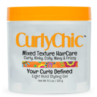 CurlyChic - Your Curls Defined Light Hold Styling Gel (9.5oz)