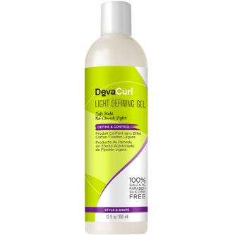 DevaCurl - Light Defining Gel Soft Hold No-Crunch Styler (12oz)