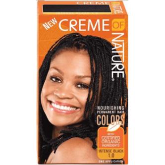 Creme of Nature - Exotic Shine Color Intense Black 1.0
