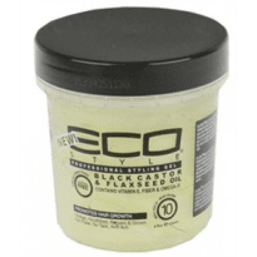 Eco Styler - Black Castor & Flaxseed Oil Styling Gel (12oz)