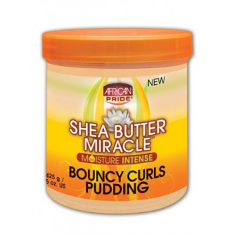 African Pride - Shea Butter Miracle - Bouncy Curls Pudding (12oz)