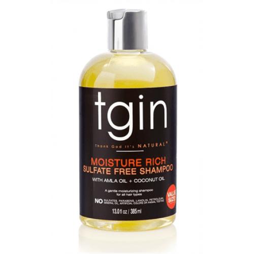 TGIN - Moisture Rich Sulfate Free Shampoo (13oz)