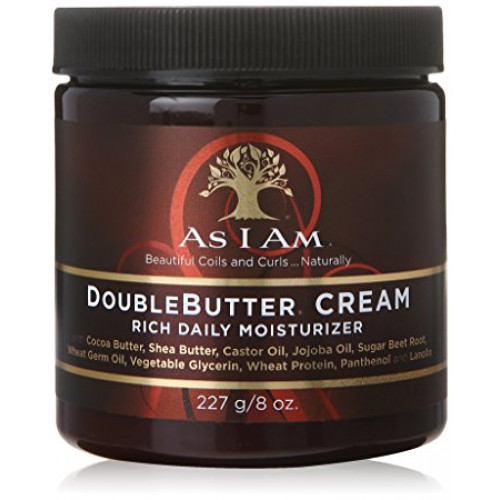 As I Am - Double Butter Cream (8oz)