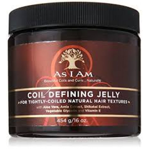 As I Am - Coil Defining Jelly (16oz)