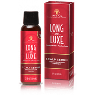 As I Am - Long & Lux Scalp Serum Strengthening Hair Treatment (2oz)