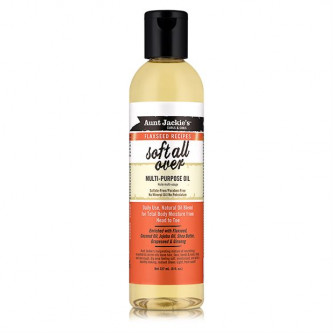Aunt Jackie's - Curls & Coils Flaxseed Recipes Soft All Over Multi-Purpose Oil (8oz)