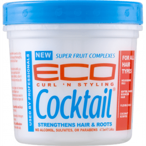 Eco Natural - Cocktail Super Fruit Complex Hair Creme Leave-in Conditioner (16oz)