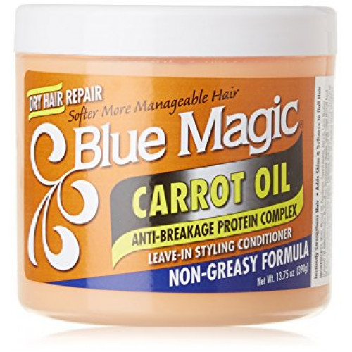 Blue Magic - Carrot Oil Leave-In Styling Conditioner (13.75oz)