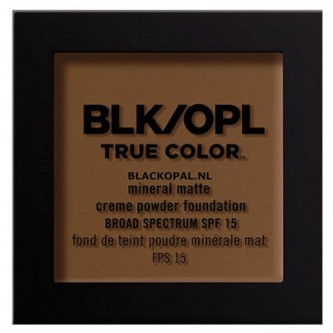 Black Opal - True Color Mineral Matte Creme to Powder Foundation Beautiful Bronze