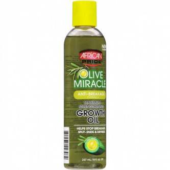 African Pride - Olive Miracle Anti-Breakage Growth Oil (8oz)
