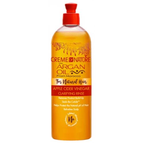 Creme of Nature - Argan Oil Apple Cider Vinegar Clarifying Rinse (15.5oz)