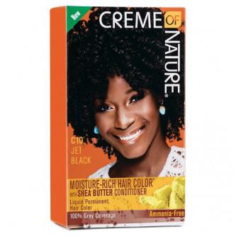 Creme of Nature - Moisture-Rich Hair Color Jet Black C10