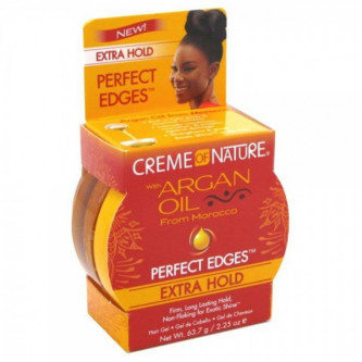 Creme Of Nature - Argan Oil Perfect Edges Extra Hold (2.25oz)