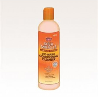African Pride - Shea Butter Miracle - Co-Wash Conditioning Cleanser (12oz)