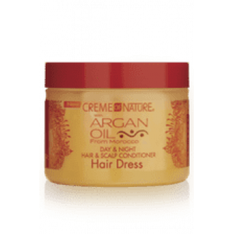 Creme of Nature - Argan Oil Day & Night Hair & Scalp Conditioner (4.76oz)