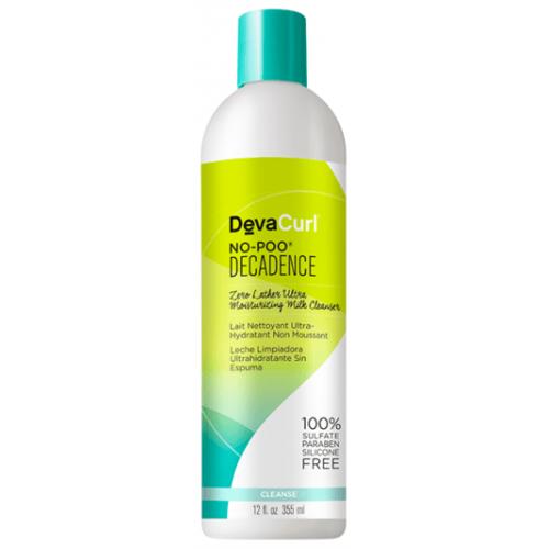 DevaCurl - No-Poo Decadence Zero Lather Ultra Moisturizing Milk Cleanser (12oz)