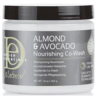 Design Essentials Natural - Almond & Avocado Nourishing Co-Wash (16oz)