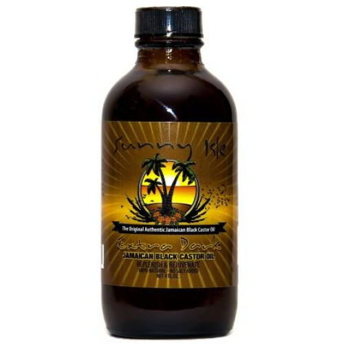 Sunny Isle - Jamaican Black Castor Oil Extra Dark  (4oz)