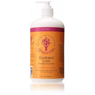 Jessicurl - Confident Coils Styling Solution (No Fragrance) (32oz)