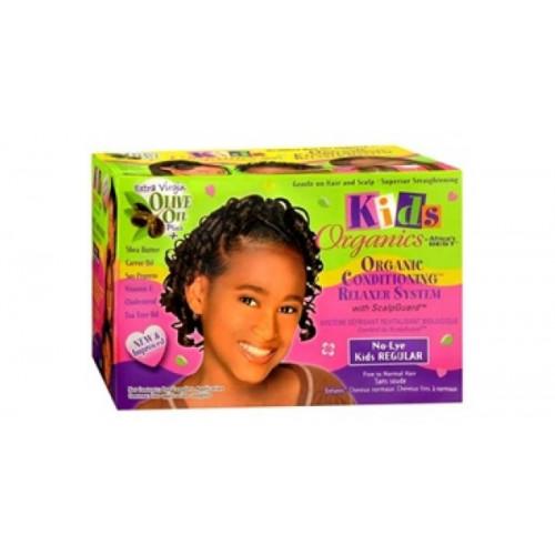 Kids Organics - No-Lye Conditioning Relaxer System Regular Kit