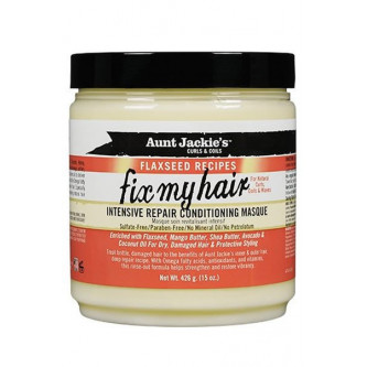 Aunt Jackie's - Curls & Coils Fix My Hair Intensive Repair Conditioning Masque (15oz)