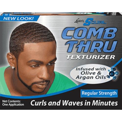 SCurl - Comb Thru Texturizer Kit (Regular Strength)