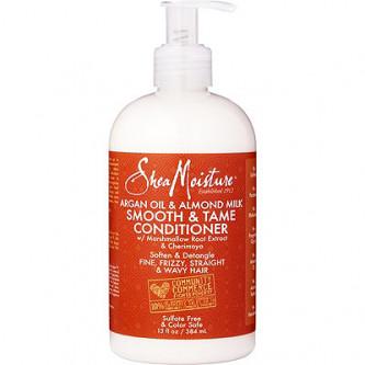 Shea Moisture - Argan Oil & Almond Milk Smooth & Tame Conditioner (13oz)